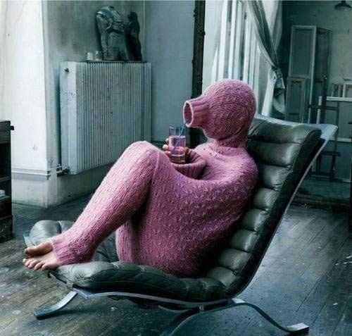Wenn's draußen kalt wird: einfach mal drin bleiben.