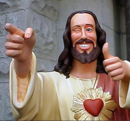 Jesus gefällt's.
